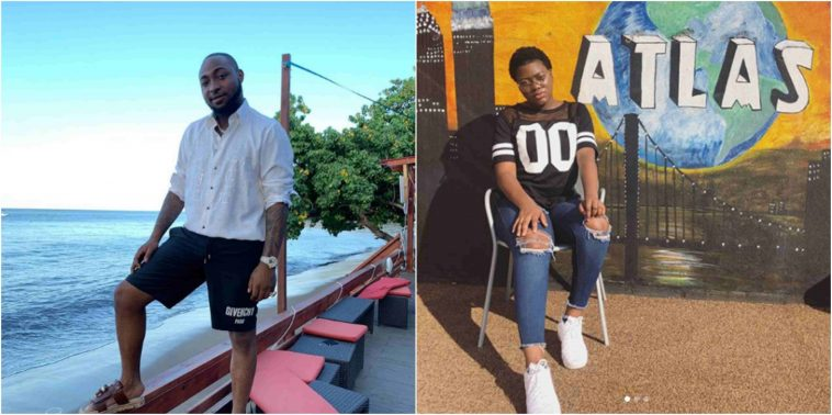 Teenage Girl Exposes Davido For Being A Bully