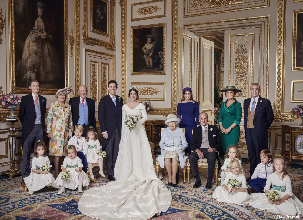 Princess Eugenie & Jack Brooksbank's Official Wedding Portraits Have Been Released!