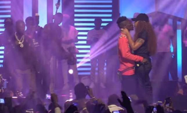 Shatta Wale Proposes To Babymama At Album Launch – Video
