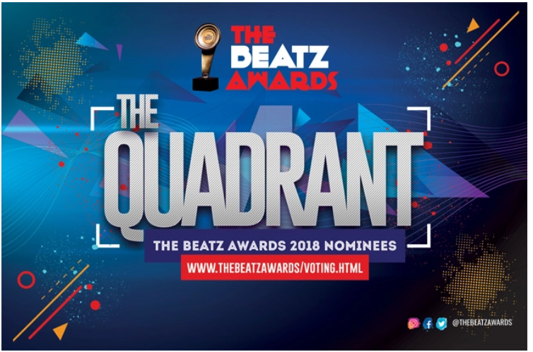 The Beatz Awards has announced the nominees' list for this year's award.