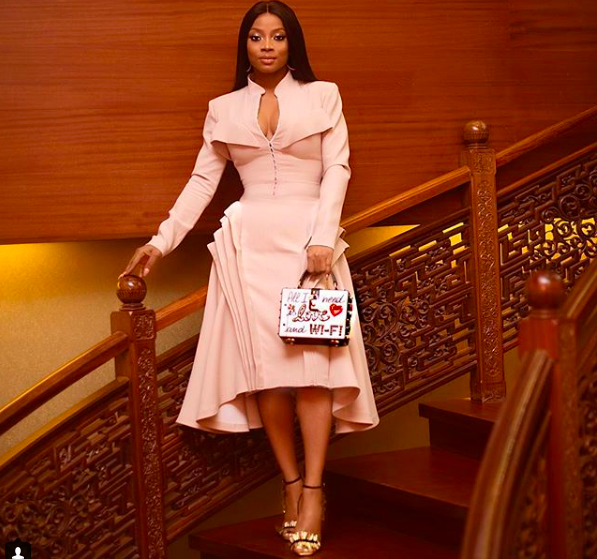 """My man doesn't have to be rich, but he has to be able to take care of me"".  – Toke Makinwa"