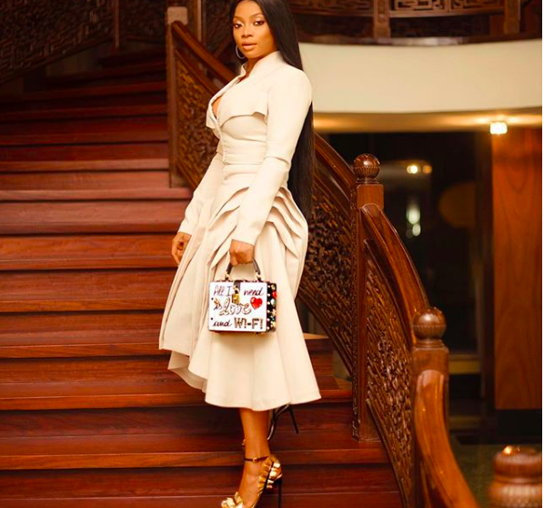Toke Makinwa Wants To Date Serbian Real Estate Mogul