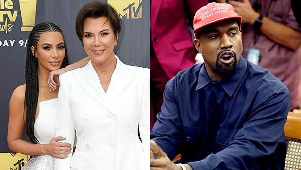 Kris Jenner In Support Mode For Kim Kardashian After Kanye West's White House Rant