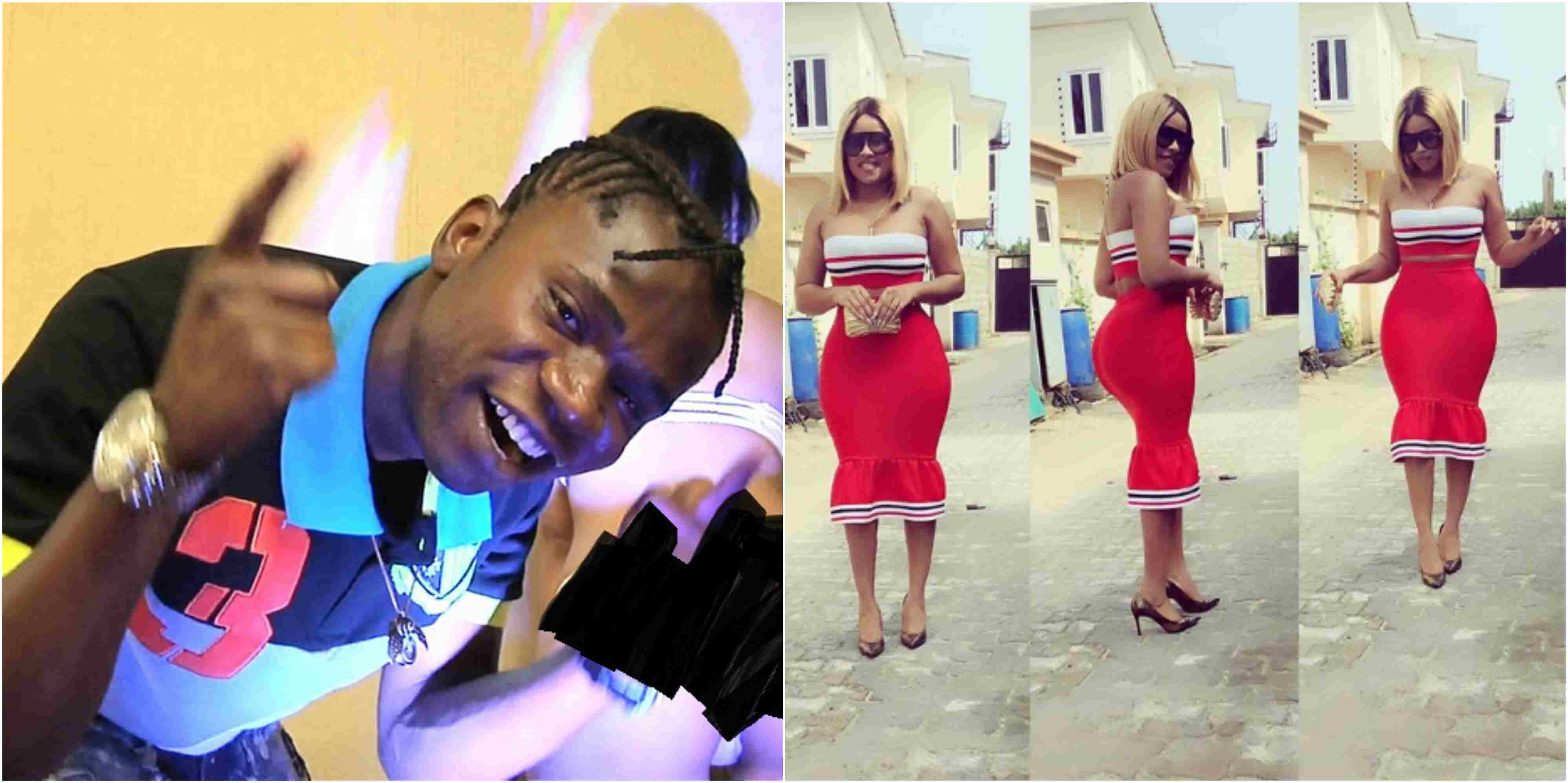 Speed Darlington Gushes About Onyi Alex's Backside