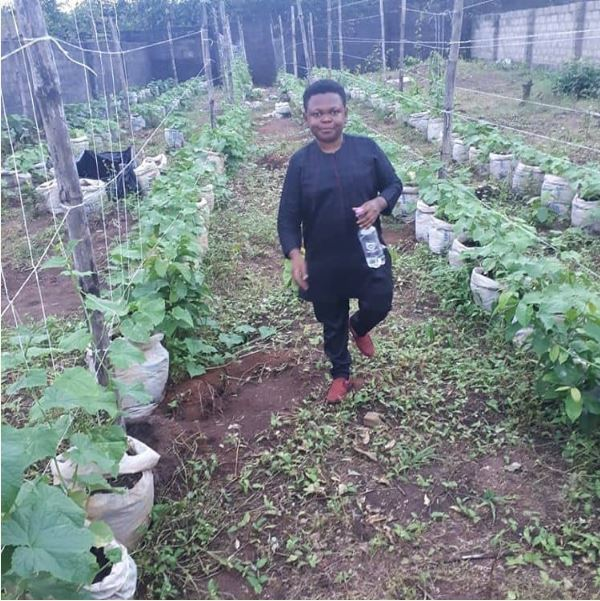 Actor, Osita Iheme Goes Into Farming, Shows Off His Resident Farm