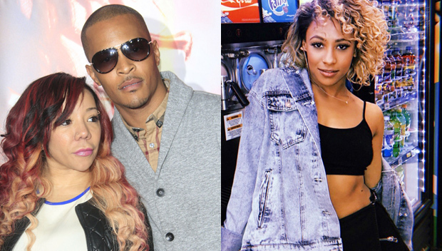 T.I.'s Ex-Side Chick Asia'h Epperson Sings Along To His New Song: Taunting Tiny?
