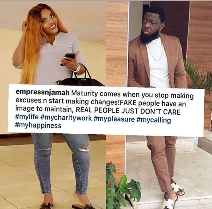Empress Njamah Drops A Classic Message In Response To Timaya Car Gift Controversy