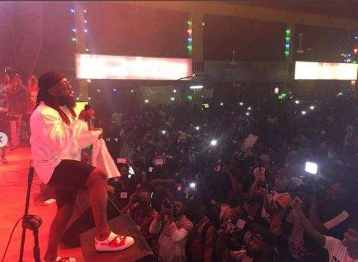 Felabration 2018: Timaya blows fans away with melodious tunes on day 3
