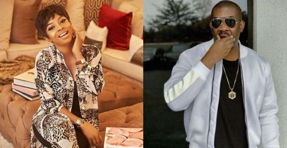 Don Jazzy And Toke Makinwa Flirt On Social Media And It's Adorable