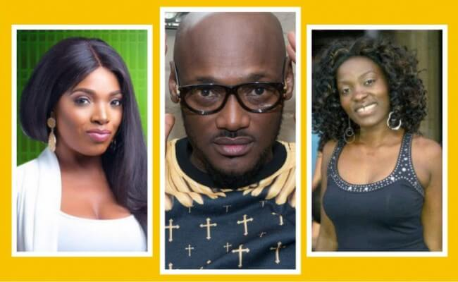 [VIDEO] 2Face Moved To Tears As Wife, Annie Idibia And His Babymama Pero Reconcile