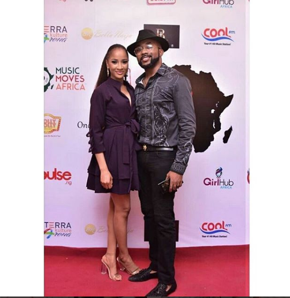 Banky W Gushes Over Adesua Etomi