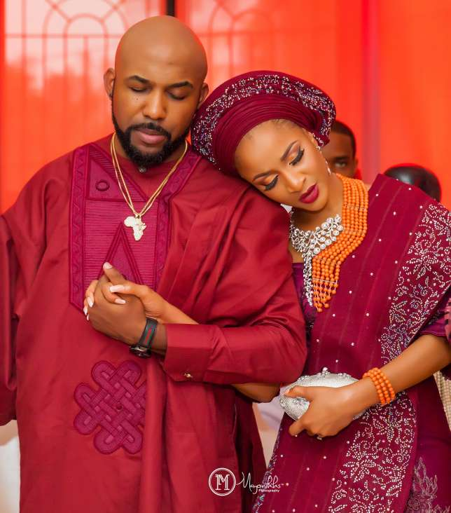 Check out adorable messages exchanged between Banky W and Adesua Etomi on special day