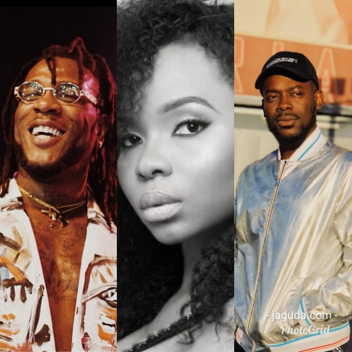 Burna Boy, Adekunle Gold, Yemi Alade To Be Considered For Grammy Awards