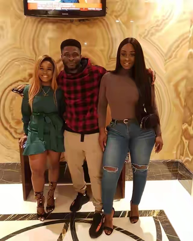 Cee-c Shares Images With Uriel In Dubai