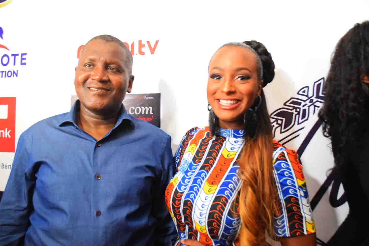VIDEO: Aliko Dangote's Birthday Message To DJ Cuppy
