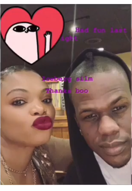 Iceberg Slim Spotted With New Lady