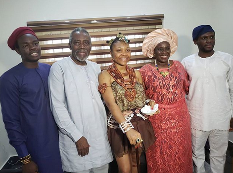 Olu Jacobs And Joke Silva Celebrate 33rd Anniversary