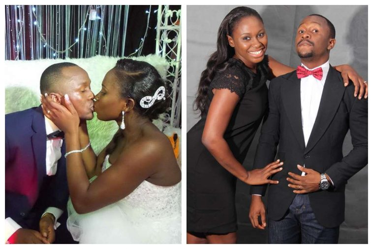 [PHOTOS] Ushebebe And Wife Celebrate 5th Wedding Anniversary