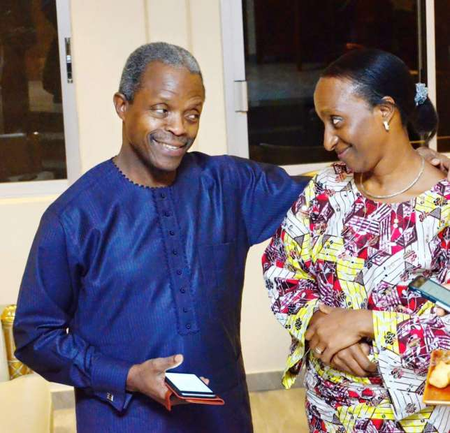 29 And Magical! Vice President Yemi & Dolapo Osinbajo celebrate wedding anniversary!