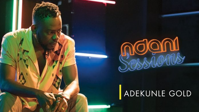 VIDEO: Adekunle Gold Performs Live on NdaniSessions!