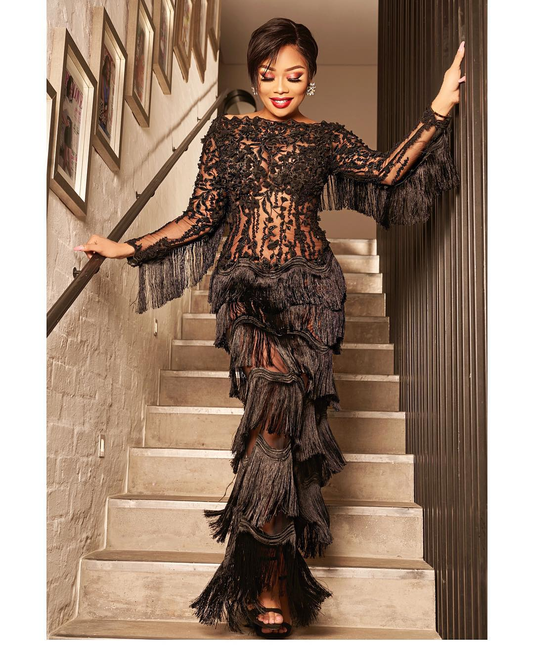 PHOTOS: Bonang Matheba Teases Her Male Fan With Bumstatic New Photos