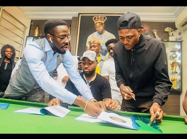 It Seems Rising Star, Idowest Has Parted Ways With Davido's DMW Company