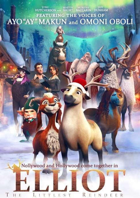 Ay, Omoni Oboli join Josh Hutcherson for 'Elliott: The Littlest Reindeer'
