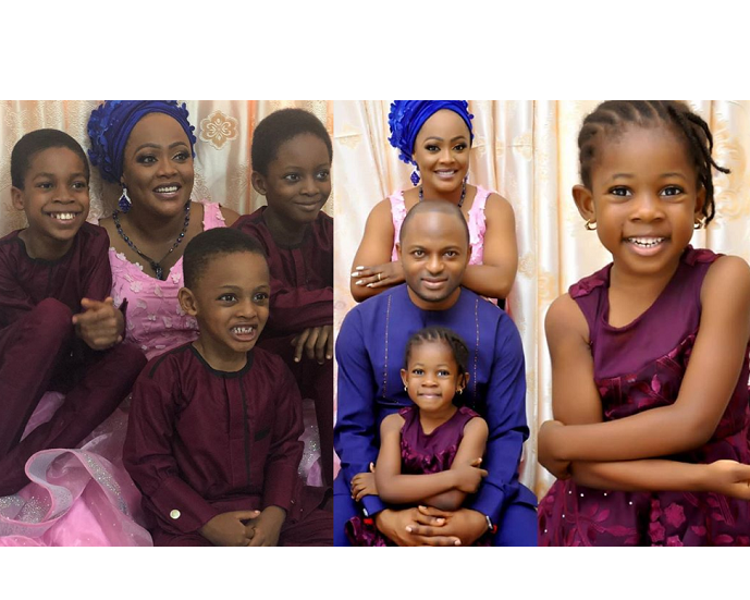 Adorable Photos Of Helen Paul And Family