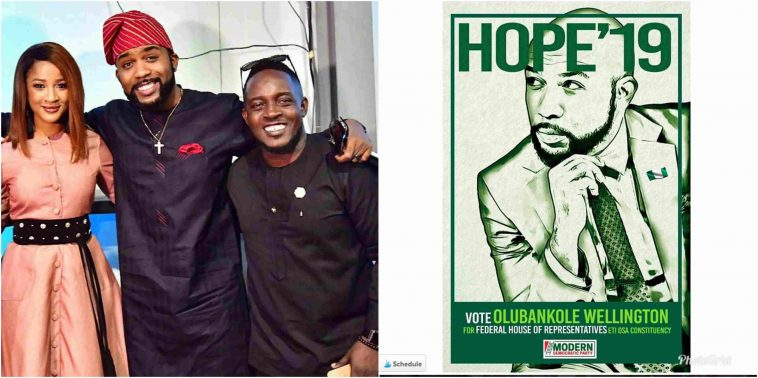 How MI Reacted To Banky W's Political Ambition