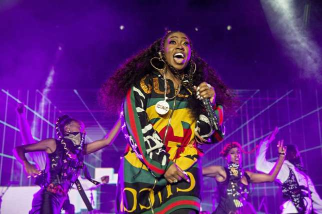 Missy Elliot becomes first female rapper to be nominated for the Songwriters Hall of Fame