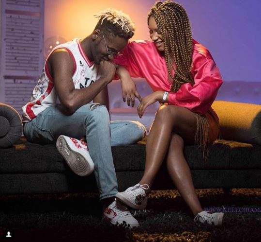 Mr Eazi says DJ Cuppy didn't introduce her sister to him