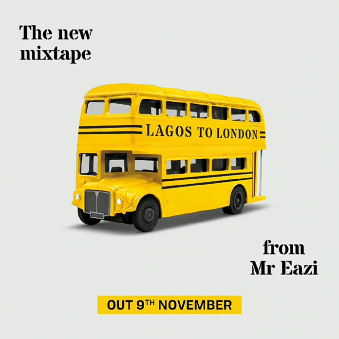Mr Eazi Submits The Tracklist His 'Lagos To London' Mixtape