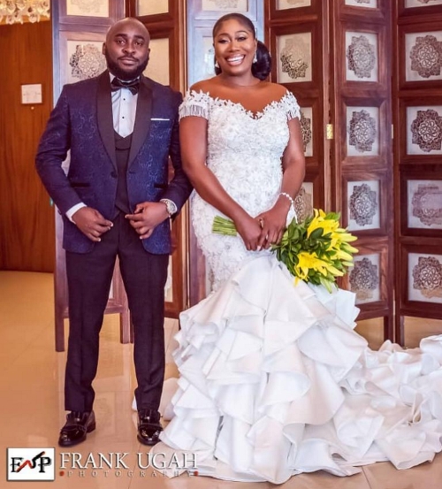 First Photos From The White Wedding of OAP Gbemi Olateru-Olagbegi & Femi Ajayi