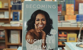 Michelle Obama's 'Becoming' Book Outshines Her Husband's Book