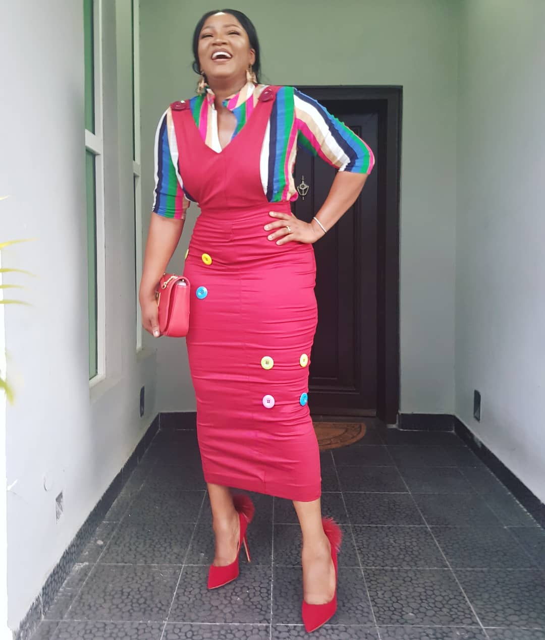 """""""Too Blessed To Be Stressed"""" – Actress Omotola Ekeinde S"""