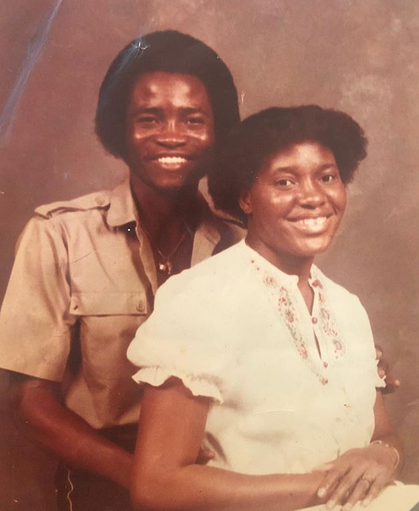 TeeBillz Posts Throwback Photo Of Parents