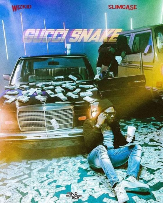 Twitter reacts as Wizkid's 'Gucci Snake' takes over the web