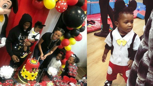 PHOTOS: Wizkid Throws Son, Zion, Lavish Birthday Party