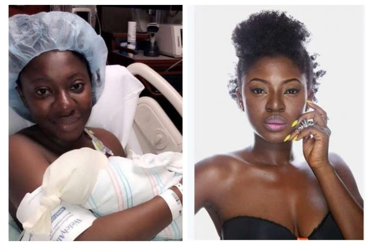 [PHOTOS] Yvonne Jedege Welcomes First Child