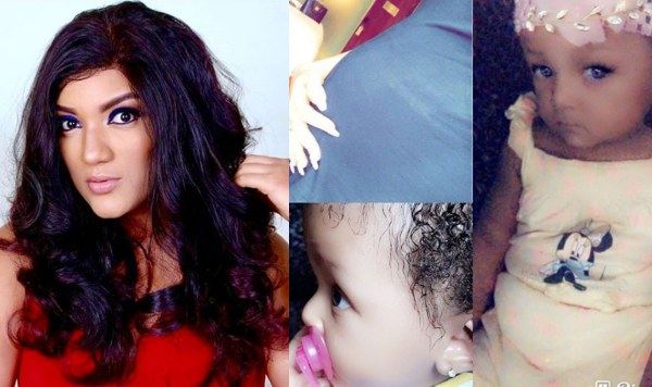 [PHOTOS] BBNaija's Gifty Celebrates Her Daughter On First Birthday