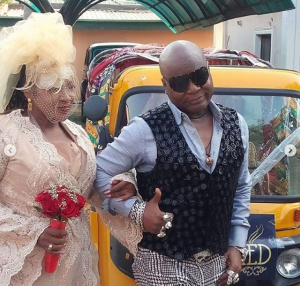 Charly Boy Remarries His Wife of 40 Years | SEE PHOTOS