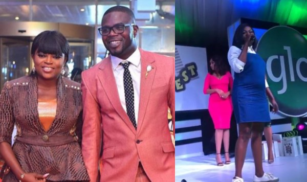 Funke Akindele Welcomes First Child With JJC Skillz