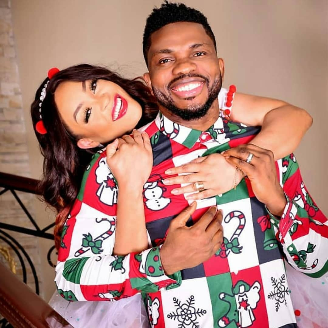 Joseph Yobo And Wife, Adaeze, Release Family Christmas Photos
