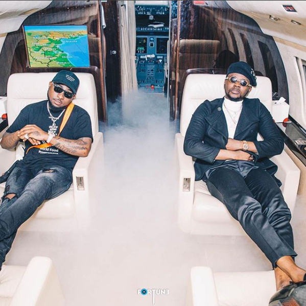 Kizz Daniel & Davido's 'One Ticket' Takes No.1 Spot On YouTube Nigeria