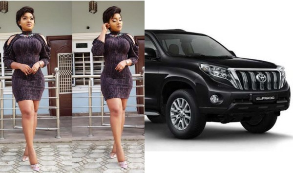 Mercy Aigbe Buys Herself A New Whip