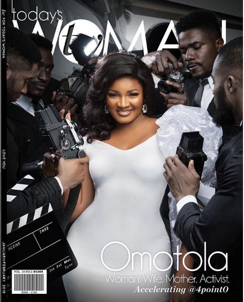 Omotola Jalade-Ekeinde Talks About Her Music Career