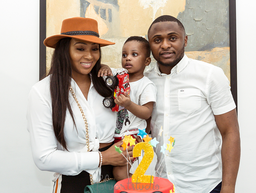 Ubi Franklin Gushes About His Son…And Lilian Esoro