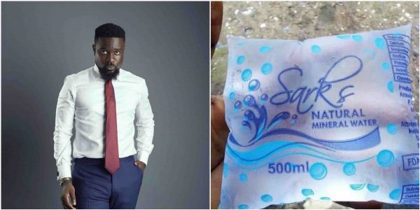 Sarkodie Reportedly Go Into Pure Water Business