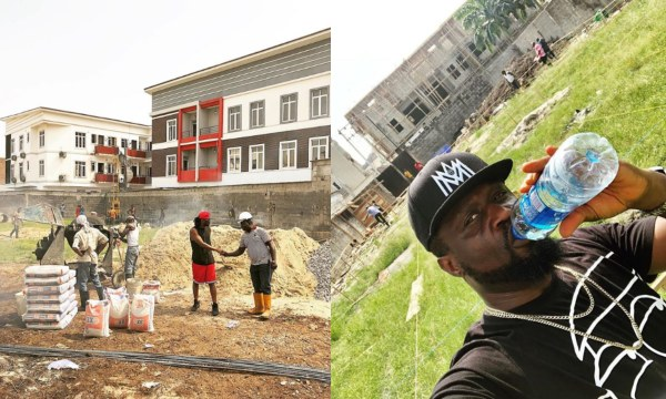 Paul And Jude Okoye Building New Mansions In Ikoyi