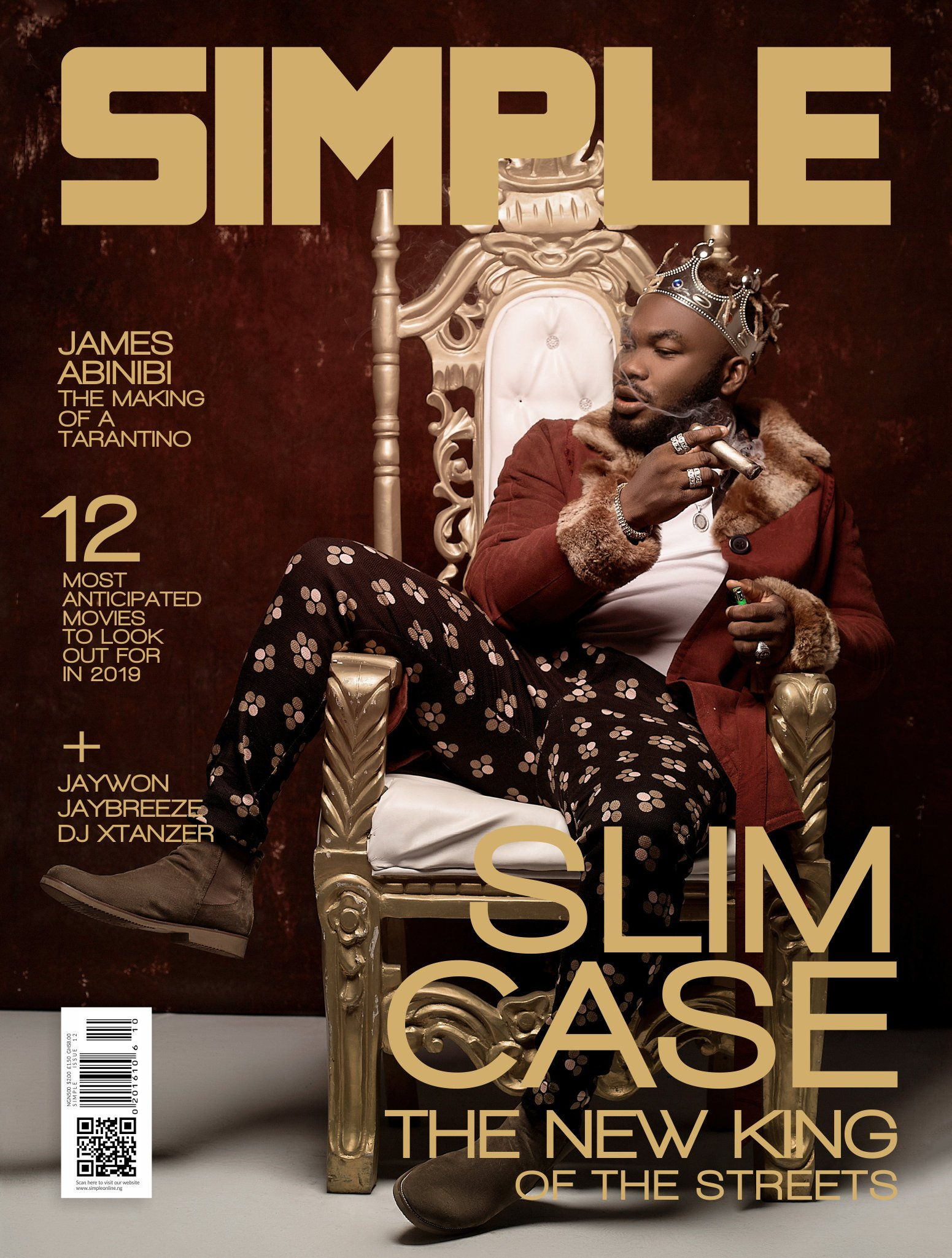 SLIMCASE HEADLINES THE NEW COVER OF SIMPLE MAGAZINE